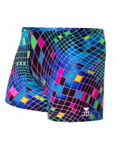 Boy's Disco Inferno All Over Square Leg Swimsuit