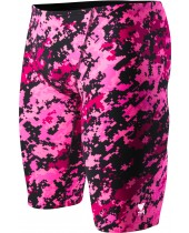 Men's TYR Pink Digi Camo All Over Jammer Swimsuit
