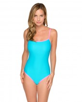Women's HB Solid Binded One Piece Swimsuit