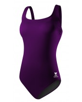 Women's Solid Aqua Controlfit Swimsuit