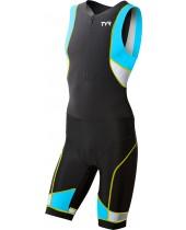 Men's Competitor Zipper Front Trisuit W/ Pad
