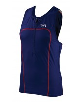 Men's Carbon Triathlon Zipper Tank