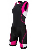Women's Competitor Trisuit with Back Zipper