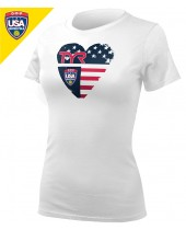 Required USA Water Polo ODP Women's Tee (Women's 3 of 3)