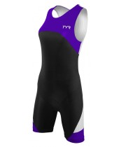 Women's Carbon Zipper Back Short John W/Pad