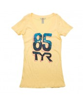 Women's Hella TYR V-Neck Fitted Tee
