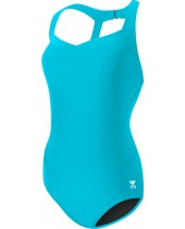 Women's Solid Halter Controlfit Swimsuit