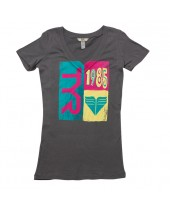 Women's In The Mix V-Neck Fitted Tee