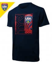 Required USA Water Polo ODP Men's Tee (Men's 3 of 3)