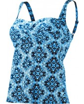 Women's Diamond Valley Twist Bra Tankini