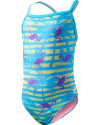Girls' Flamingo Stripe Diamondfit
