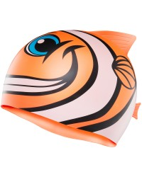 Kids' CharacTYR Happy Fish Swim Cap