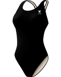 Girls Swim Team Suits: Durafast One Solid Maxfit
