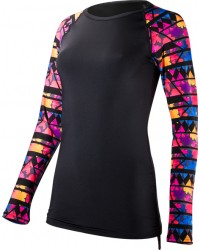 Women's Belize Long Sleeve Rashguard- Santa Rosa