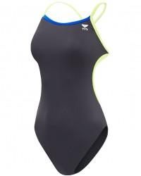 TYR Women's Durafast Lite Solid Brites Trinityfit Swimsuit.