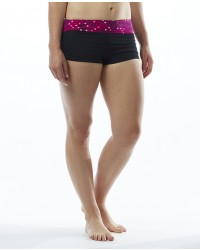 Women's TYR Pink Cadet Active Mini Boyshort