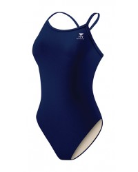 Girls' Durafast One Solid Diamondfit Swimsuit
