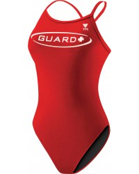 Women's Guard TYReco Solid Diamondfit Swimsuit