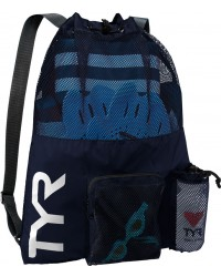 TYR Big Mesh Mummy Backpack - Swim Bag