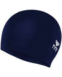 Solid Latex Jr Swim Cap