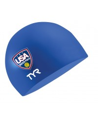USA Water Polo Silicone Swim Cap