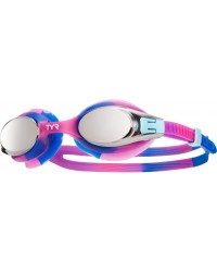 Big Swimple Mirrored Tie Dye Goggles