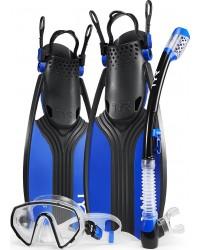 TYR Sport - Voyager Mask Snorkel Fin Set