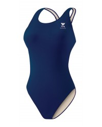 TYR Girls' Durafast One Solid Maxfit Swimsuit