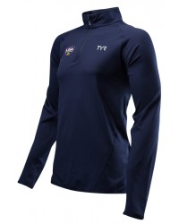 "TYR USA Water Polo ODP Men's Long Sleeve 1/4"" Zip Pullover"