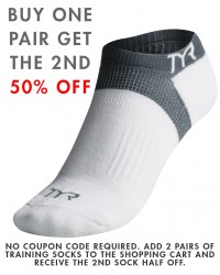 TYR All Elements No Show Training Socks - TYR Sport