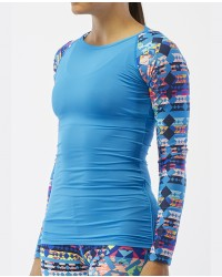 Women's Belize Long Sleeve Rashguard- Boca Chica