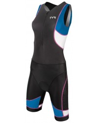 Womens Tri Suit: Competitor Trisuit with Front Zipper