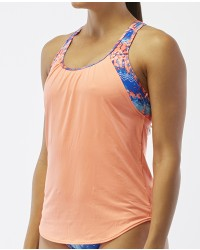 Women's Solay 2 in 1 Tank- Emerald Lake