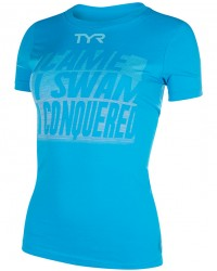 Women's Conquered Graphic Tee