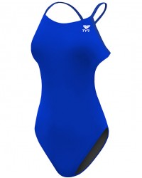 TYR Women's Solid Cutoutfit Swimsuit