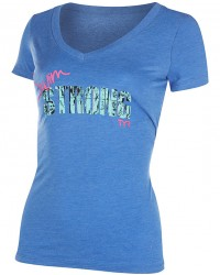 Women's Swim Strong Graphic V-Neck Tee