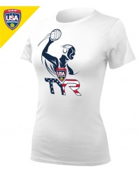 (2-2 Womens) Required Women's USA Water Polo ODP Tee