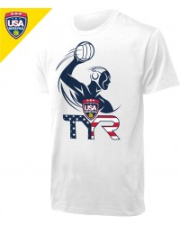 (2-2 Mens) Required Men's USA Water Polo ODP Tee