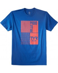 TYR Men's Proud To Be Crew Neck Tee | TYR Sport