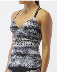 Women's Emerald Lake Cascade Cross Tankini