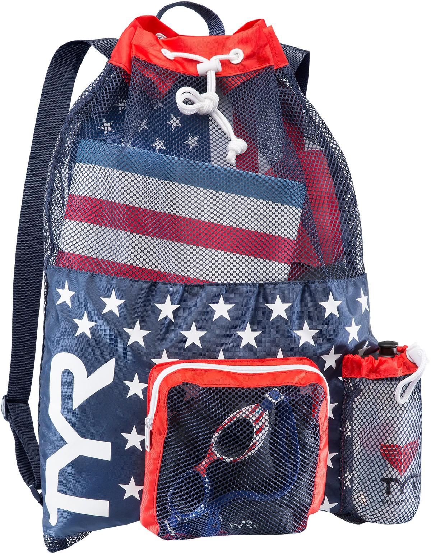 Tyr Big Mesh Mummy Backpack Swim Bag Mesh Gear Bag Tyr