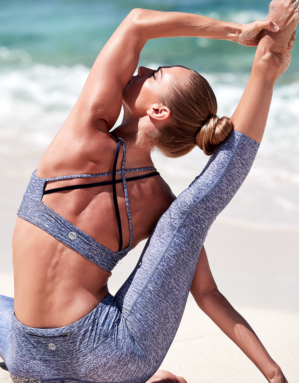 Shop The Look - Mantra Brooke Bralette & Mantra ¾ Kalani Tight
