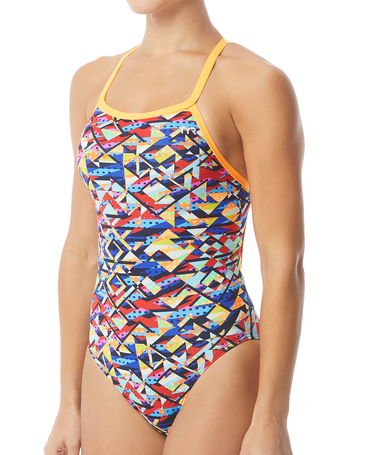 d8b24dadb04 TYR Women's Mosaic Diamondfit Swimsuit | TYR