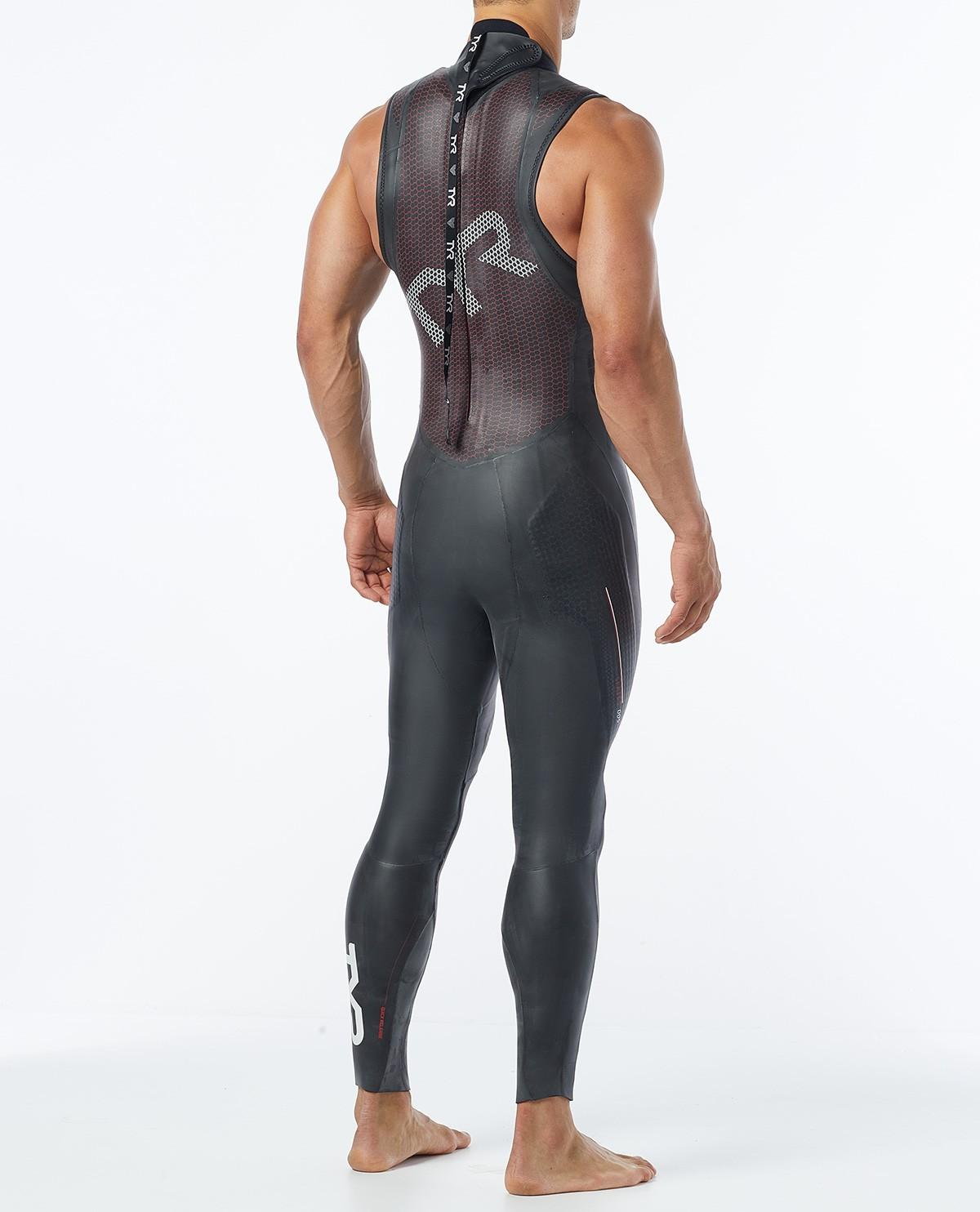 82f9578007e45 ... Mens Triathlon Cat 5 Sleeveless Wetsuit ...