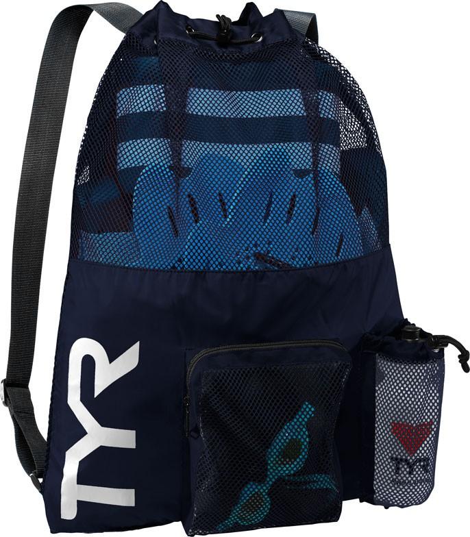 5bd21ef599 TYR Big Mesh Gear Bag - Swimming Bags ...