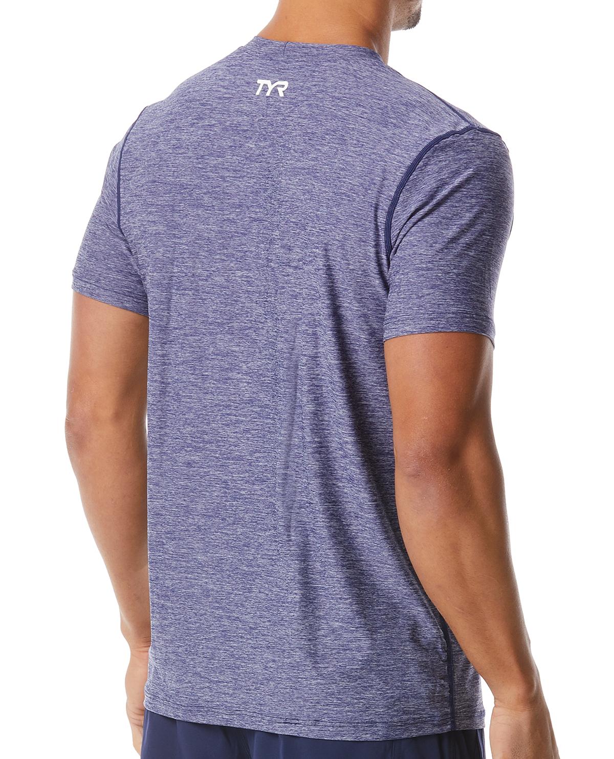 ... TYR Men s Vista Short Sleeve Rashguard ... 7661894946bf