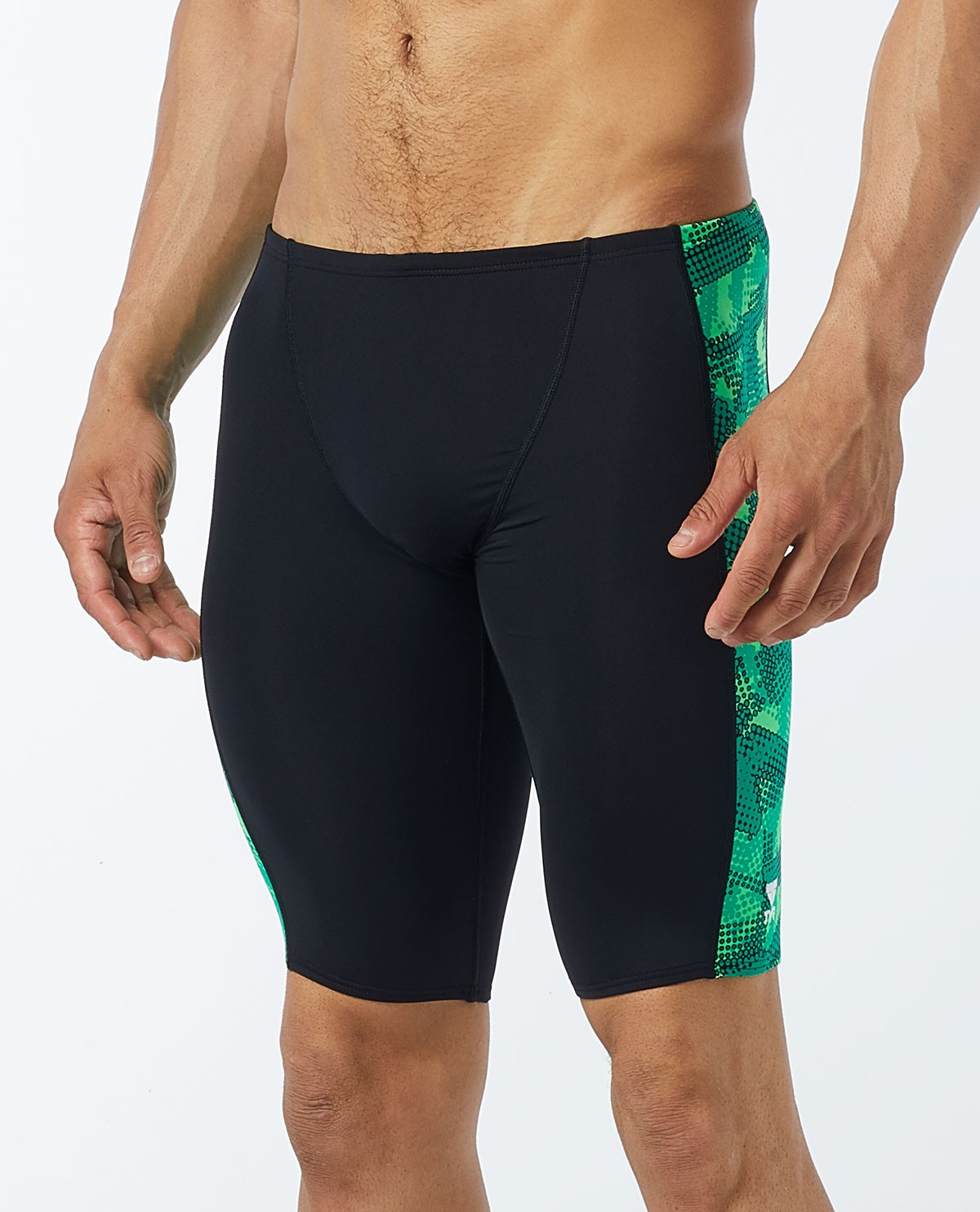 628b4f6ebb TYR Men's Vesuvius Hero Splice Jammer Swimsuit | TYR