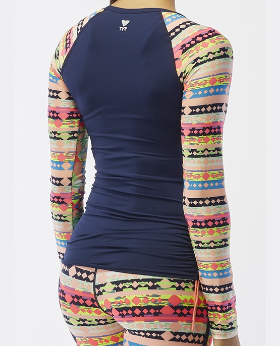 3d53b696 ... Women's Belize Long Sleeve Rashguard- Boca Chica ...