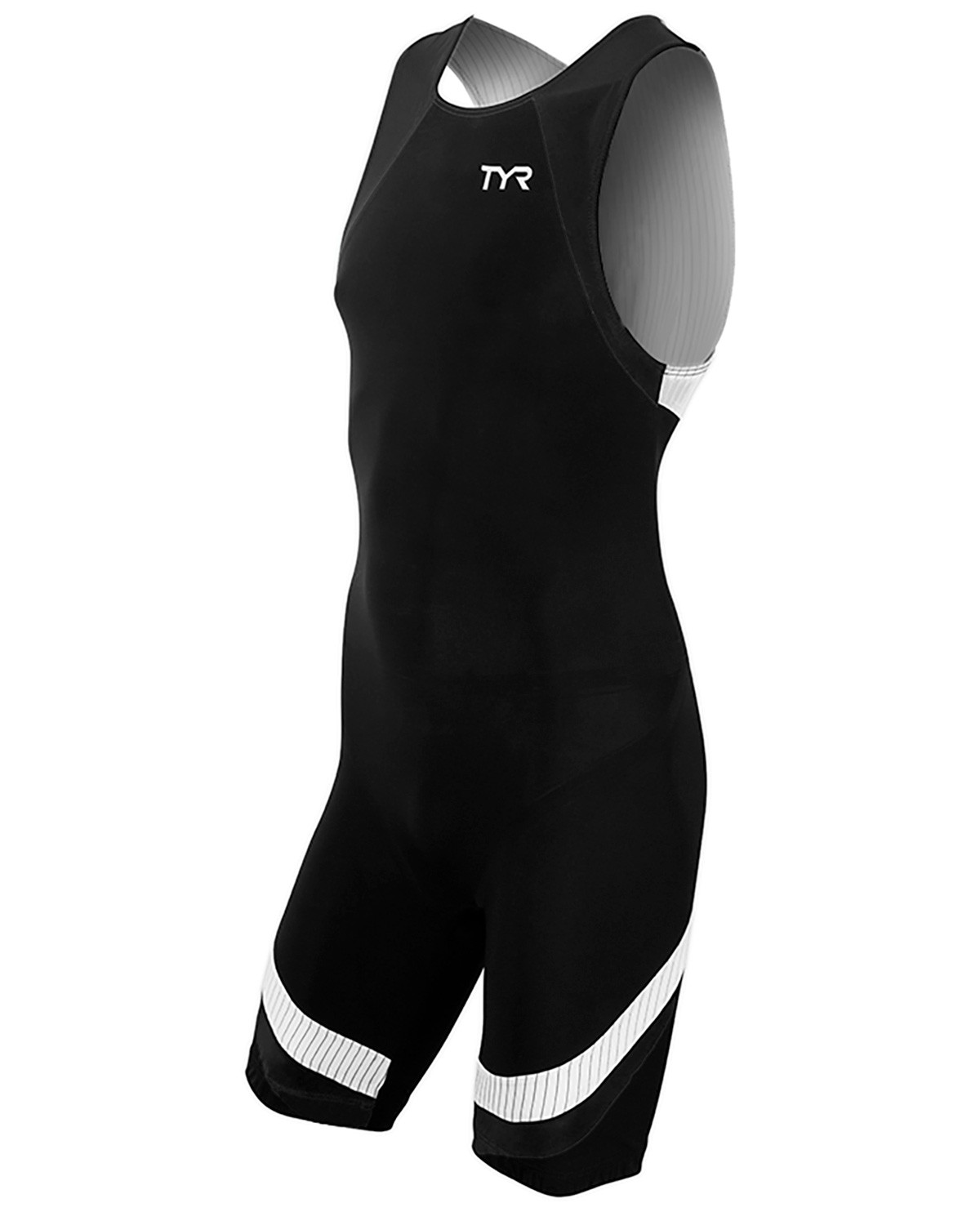 93328f7f4b ... Triathlon Gifts For Him: Men's Carbon Zipper Back Short John Triathlon  Suit ...