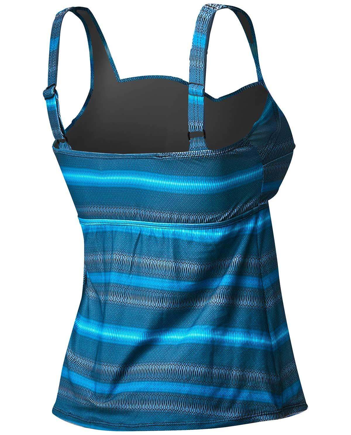 a2f8612c47530 ... TYR Women's Tramonto Twisted Bra Tankini Plus